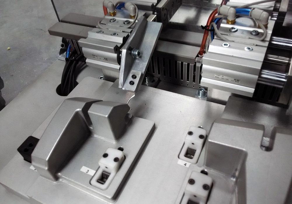 Industrialización: cortadora de coladas