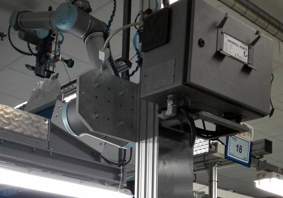 Industrialización: sistema de alimentación robotizado
