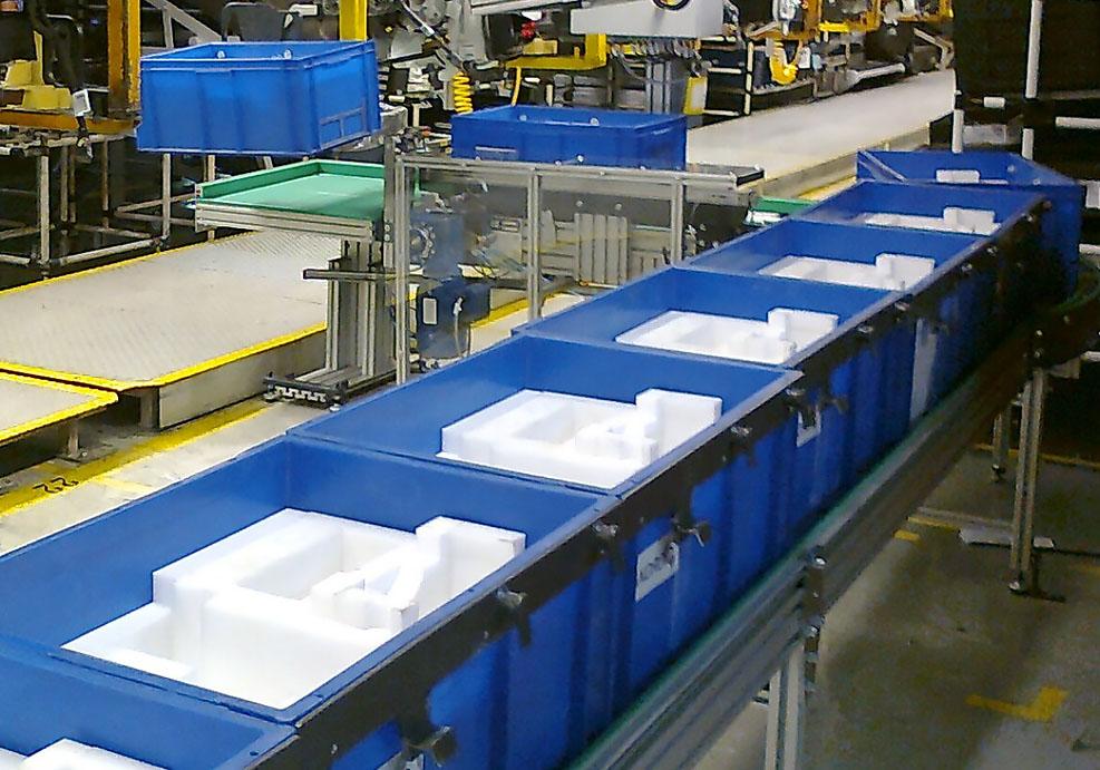 Industrialización: sistema automático de alimentación de cajas