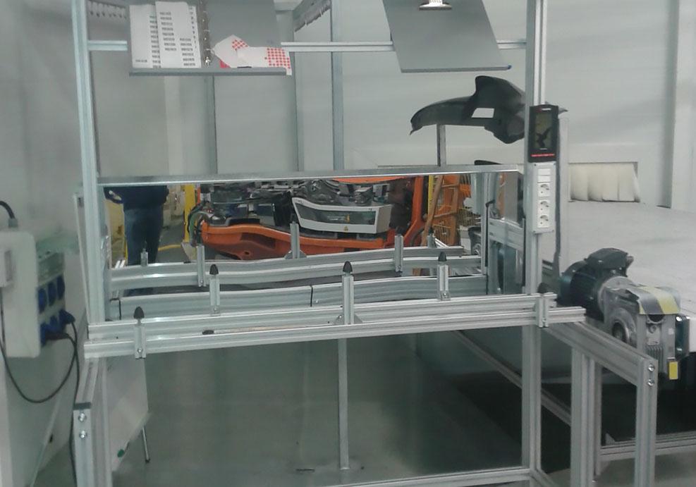 Puestos de trabajo para inspección