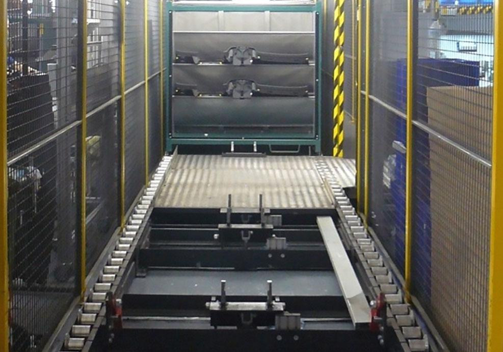 Transportadores de rodillos gravedad semiautomáticos